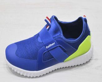 Детски обувки Bulldozer сини текстил NGUW-23219