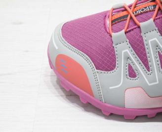 Детски обувки Bulldozer розови еко кожа SHDS-23221