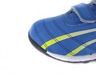 Детски обувки Bulldozer еко кожа сини HHRW-16538