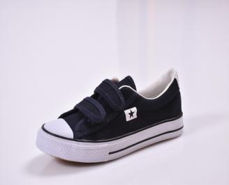 Детски обувки  текстил тъмно сини XFLC-26821