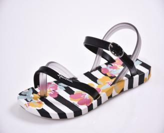 Детски  равни  сандали бели FIEG-27407