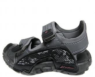 Детски равни сандали Rider черни NQFD-21685