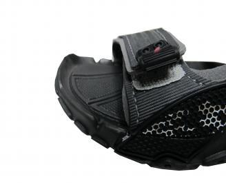Детски равни сандали Rider черни EMSN-21687
