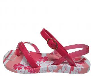 Детски равни силиконови сандали Ipanema розови UGJU-21670