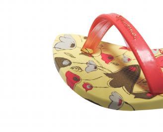 Детски равни силиконови сандали Ipanema шарени USRJ-21694