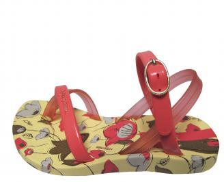 Детски равни силиконови сандали Ipanema шарени QXCS-21695