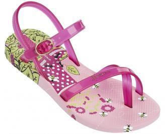 Детски равни силиконови сандали Ipanema розови EAGC-24362