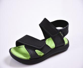 Детски сандали черни ZDVX-27396