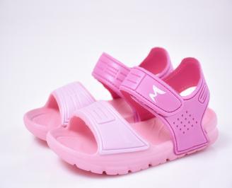 Детски сандали силикон розови XXIF-1012498