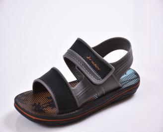 Детски сандали сиви SYVW-27392