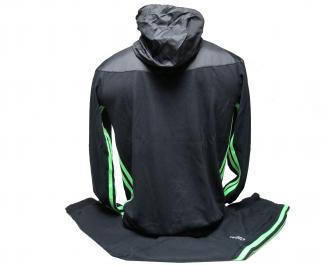 Детски  спортен екип памук черен GCAK-21999