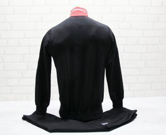 Детски спортен екип памук черен ADAX-25050