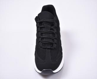 Детски юношески маратонки черни YUOJ-1014220