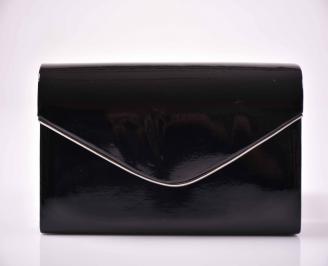 Елегантна абитуриентска чанта лак черна  TFTN-1014884