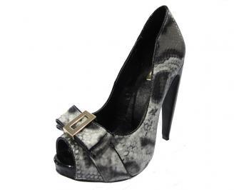 Елегантни дамски обувки еко кожа шарени CDCL-11753