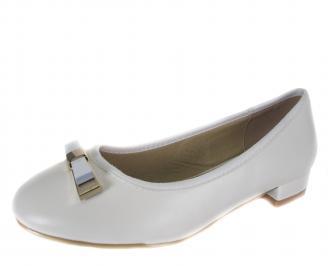Ежедневни дамски обувки еко кожа бели MCGX-18233