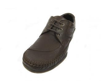 Ежедневни мъжки обувки естествена кожа UMWQ-11383