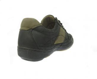 Ежедневни мъжки обувки естествена кожа XCEC-11387