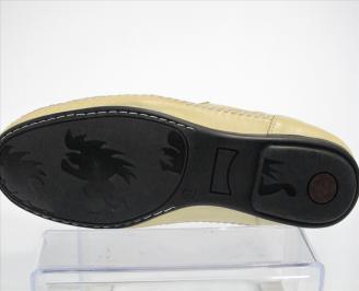 Мокасини от естествевена кожа HPCH-10319