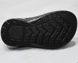 Мъжки чехли естествена кожа бежови KTRP-24149
