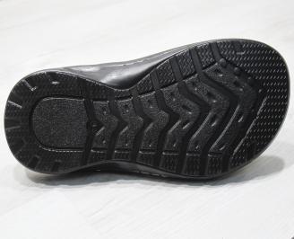 Мъжки чехли -Гигант естествена кожа бежови QKKT-24146