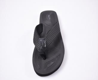Мъжки джапанки еко кожа черни DCCS-1012519