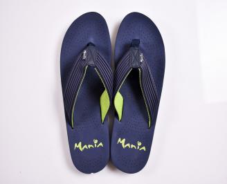 Мъжки джапанки гума сини OWMF-27881
