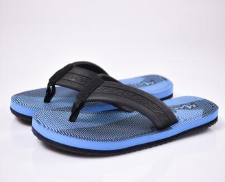 Мъжки джапанки силикон сини WBTX-1012493
