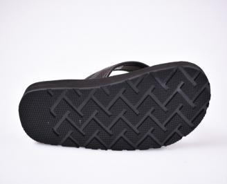 Мъжки джапанки силикон черни ALZG-1012499