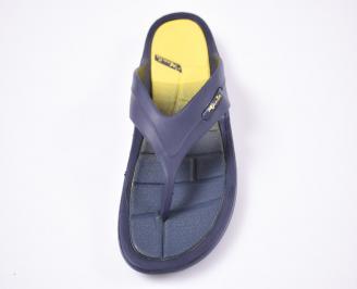 Мъжки джапанки силикон сини NDTX-1012510