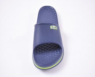 Мъжки джапанки силикон сини LTVL-1012521