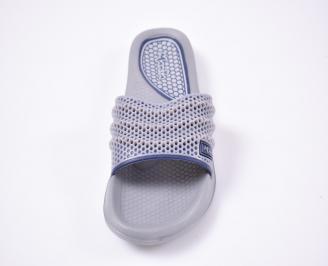 Мъжки джапанки силикон сиви ZZLT-1012527