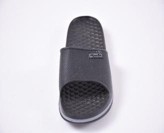 Мъжки джапанки силикон черни EOIZ-1012537
