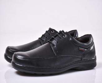 Мъжки ежедневки обувки черни YAKQ-1014203