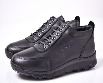 Мъжки ежедневни обувки черни BRFT-1013187