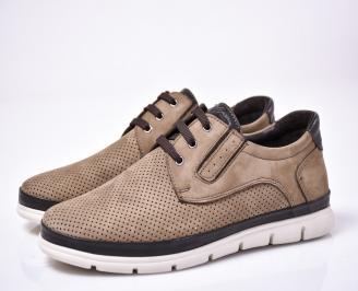 Мъжки ежедневни обувки естествен набук бевожи JGWN-1013569