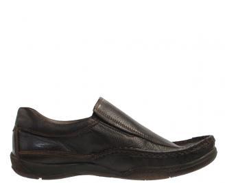 Мъжки ежедневни обувки от естествена кожа IIIK-10292