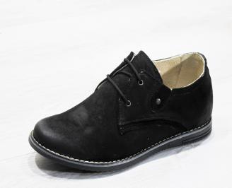 Мъжки ежедневни обувки естествен велур CXAN-17817