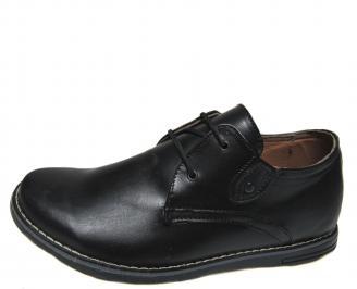Мъжки ежедневни обувки естествена кожа TOEL-17818