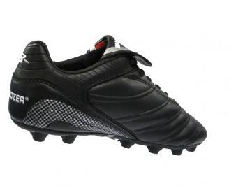 Мъжки футболни обувки  Bulldozer от еко кожа черни DAOS-10881