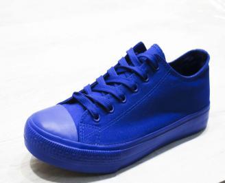 Мъжки  гуменки Bulldozer  текстил сини ETHN-25122
