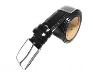Мъжки колан черен естествена кожа SIPQ-20380