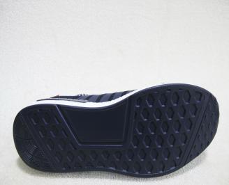 Мъжки маратонки  Bulldozer  текстил тъмно сини JKGA-23171