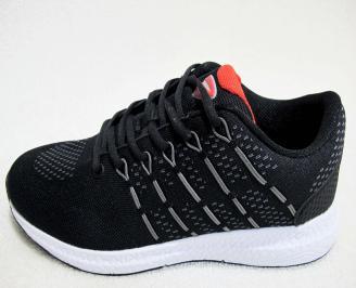 Мъжки  маратонки   Bulldozer текстил черни KJOO-23186