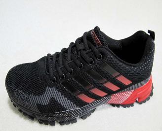 Мъжки маратонки BULLDOZER текстил черни YRSQ-23200
