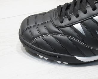 Мъжки маратонки Bulldozer еко кожа черни POHK-23760