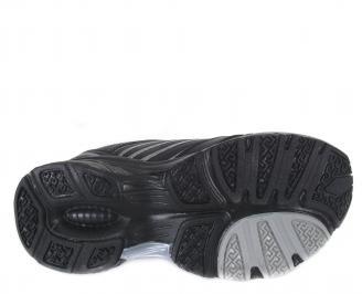 Мъжки маратонки Bulldozer еко кожа черни JEZS-24918