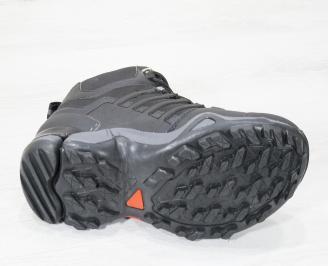 Мъжки  маратонки Bulldozer  еко кожа черни VSDA-25108