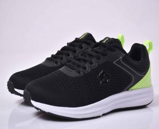 Мъжки маратонки черни ЕOBUVKIBG MCNQ-1015051