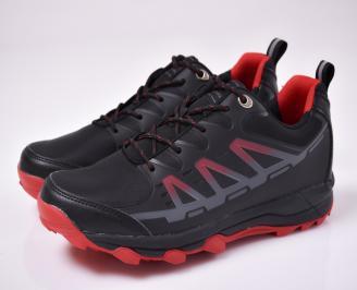 Мъжки маратонки  черни OBYQ-1012736